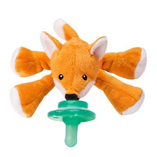 Nookums Paci-Plushies: Freckles Fox Shakies
