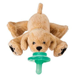 Nookums Paci-Plushies: Rufus Retriever Buddies