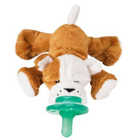 Nookums Paci-Plushies: Barkley Bull Dog Shakies