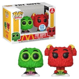Funko McDonald's: Fry Kids (Green and Red) Funko Shop Exclusive 2 Pack Funko POP!