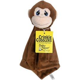 Crinkle cuddlers Crinkle Cuddlers: Monkey Crinkle Cuddler