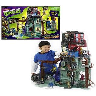 Playmates Teenage Mutant Ninja Turtles: Secret Sewer Play Set Nickelodeon Version (Sealed In Box)