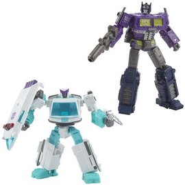 Hasbro Transformers Generations Selects: Shattered Glass Optimus Prime and Ratchet 2 Pack