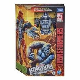 "Hasbro Transformers Kingdom ""War for Cybertron"": Optimus Primal Voyager Class"