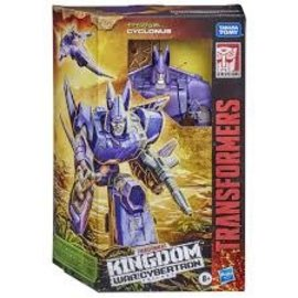 "Hasbro Transformers Kingdom ""War for Cybertron"": Cyclonus Voyager Class"