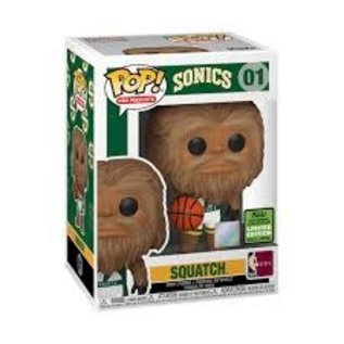 Funko NBA Mascots (Sonics): Squatch 2021 Spring Convention Exclusive Funko POP! #01