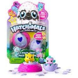 Spin Master Hatchimals Season 1- 2 pack Plus Nest