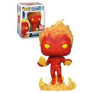 Funko Fantastic Four: Human Torch Marvel Collector Corps Funko POP! #572