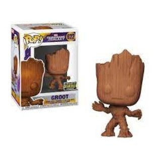 Funko Guardians of the Galaxy: Groot (wood) Entertainment Earth Exclusive Funko POP!
