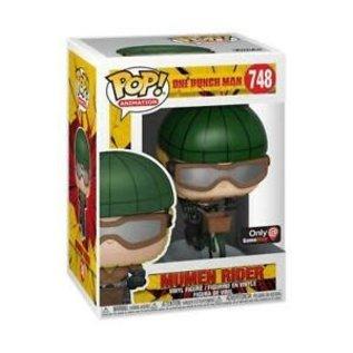 Funko One Punch Man: Mumen Rider with Bike Gamestop Exclusive Funko POP! #748