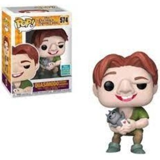 Funko Hunchback Of Notre Dame: Quasimodo Holding Gargoyle 2019 Summer Convention Exclusive Funko POP! #574