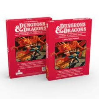 Mondo Dungeons & Dragons 1000-Piece Puzzle (Second Edition
