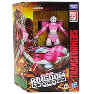 "Hasbro Transformers ""War For Cybertron"" Kingdom Class Deluxe: Arcee"