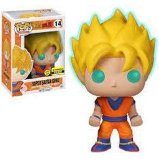 Funko Dragon Ball Z: Super Saiyan Goku GITD Entertainment Earth Exclusive Funko POP! #14