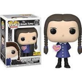 Funko The Addams Family: Wednesday Addams (Valentine) Hot Topic Exclusive Funko POP! #816