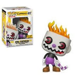 Funko Cuphead: Evil Cuphead Hot Topic Exclusive Funko Pop #417