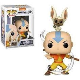 Funko Avatar The Last Airbender: Aang with Momo Funko POP! #534