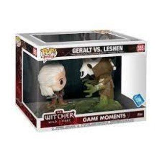 Funko The Witcher: Geralt Vs Leshen Gamestop Exclusive Funko POP! #555