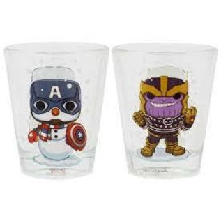 Funko Funko: Captain America And Thanos Holiday 2piece Toothpick Holder