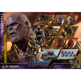 Hot Toys Marvel: Thanos (Battle Damaged Version) 1:6 Scale Figure (Hot Toys) PREORDER