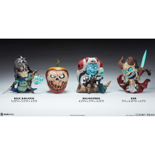 Sideshow Collectibles Court-Toons: Kier, Relic Ravlatch, & Malavestros SideShow Collectible Set