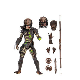 "NECA Predator 2 : Predator Ultimate Battle Damaged City Hunter 7"" Figure"