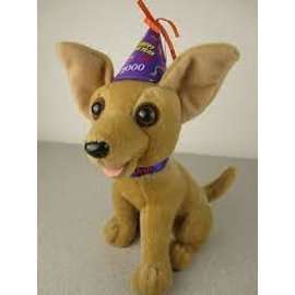 Taco Bell Dog Plush: Happy New Year 2000