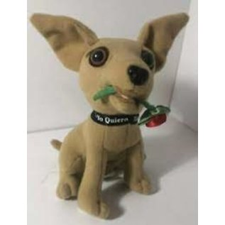 Taco Bell Dog Plush: With Rose