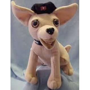 Taco Bell Dog Plush: With Barrette Hat