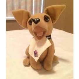 Taco Bell Dog Plush: With Napkin
