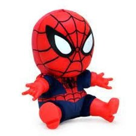 "Kidrobot Marvel : 8"" Roto Phunny Classic Spider-Man plush"