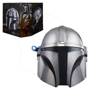 Hasbro Star Wars Black Series: The Mandalorian Premium Electronic Helmet Prop Replica