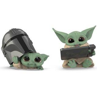 Hasbro The Mandalorian: Baby Bounties Helmet Peeking and Datapad Tablet Mini-Figures