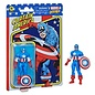 "Hasbro Marvel Legends Retro 375: Captain America 3 3/4"" Figure"