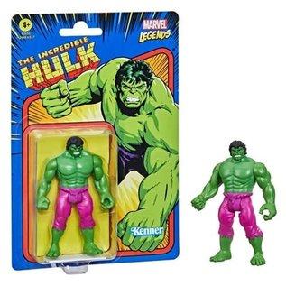 "Hasbro Marvel Legends Retro 375: The Incredible Hulk 3 3/4"" Figure"
