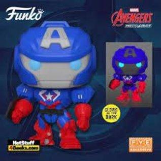 Funko Avengers Mechastrike: Captain America GITD FYE Exclusive Funko POP! #829
