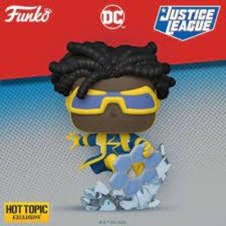 Funko Justice League: Static Shock Hot Topic Exclusive Funko POP! #387