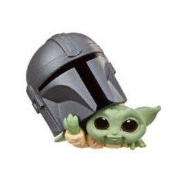 Hasbro Star Wars: The Child Baby Bounties Helmet Peeking Individual
