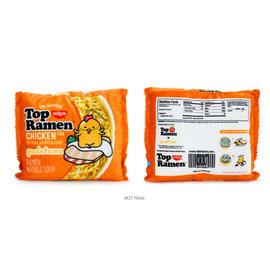 """Kidrobot Top Ramen x Gudetama: Crinkle Chicken Large 16"""" Plush"""