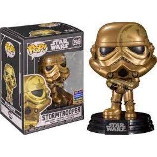 Funko Star Wars: Stormtrooper 2021 Wondrous Convention Limited Edition (Shared Sticker) Funko POP! #296