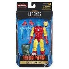 Hasbro Shang-Chi Marvel Legends:Tony Stark (A.I)  6-Inch Action Figure