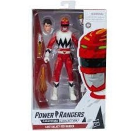 Hasbro Power Rangers Lightning Collection Lost Galaxy Red Ranger 6-Inch Action Figure