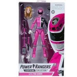 Hasbro Power Rangers Lightning Collection S.P.D. Pink Ranger 6-Inch Action Figure