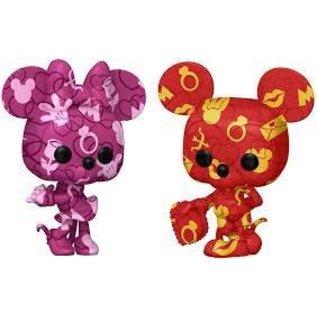Funko Art Series: Mickey & Minnie Mouse 2Pack Amazon Exclusive Funko POP!