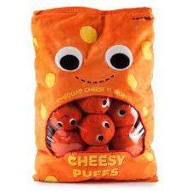 Kidrobot Kidrobot: XL Cheesy Puffs Plush