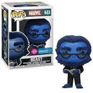 Funko Marvel: Beast Flocked Walmart Exclusive Funko POP! #643