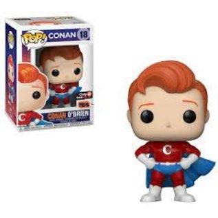 Funko Conan: Conan O'Brien (Superhero Costume) Gamestop Exclusive Funko POP! #18