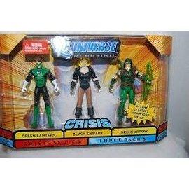 Mattel Dc Universe Infinite Heroes: Green Arrow, Black Canary, Green Lantern 3-pack