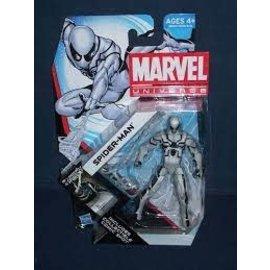 "Hasbro Marvel Universe: 3.75""  White suit Spider-man figure (series 4)"