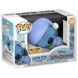 Funko Disney's Lilo & Stitch: Sleeping Stitch Hot Topic Exclusive Funko POP! #1050
